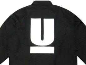 UNDERCOVER アンダーカバー 新品 COACH JACKET 黒 U LOGO Uロゴ ブラック コーチジャケット BLACK