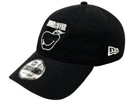 UNDERCOVER アンダーカバー ニューエラコラボ 18AW 新品 黒 NEW ERA SMILE APPLE 9TWENTY CAP 刺繍 キャップ スマイル アップル りんご BLACK