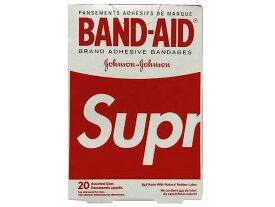 SUPREME シュプリーム 19SS 新品 赤 BAND-AID バンドエイド 1箱(20枚入り)RED レッド ボックスロゴ