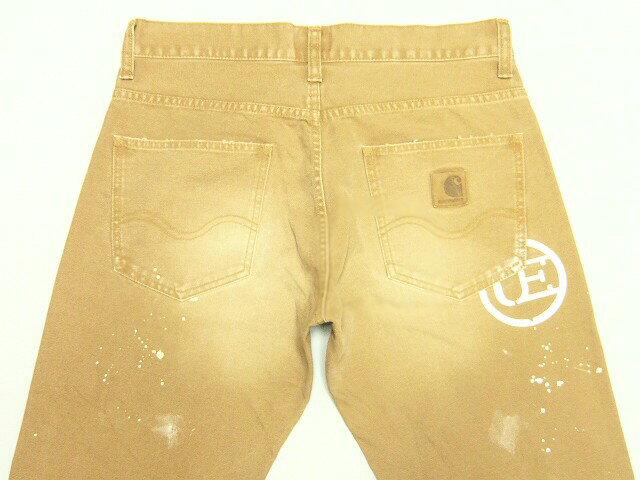 SOPH UE ソフxカーハートコラボ★2011新品 CARHARTT DAMEGED BRONCO PANTブラウン uniform experiment