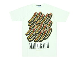 UNDERCOVER ISM アンダーカバー 復刻☆2013新品 MAD GRAPH HOTDOG ホットドッグ Tシャツ 白
