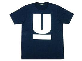 UNDERCOVER アンダーカバー 店舗限定 新品 U LOGO Uロゴ プリント Tシャツ 紺 ネイビー NAVY