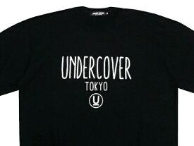 UNDERCOVER アンダーカバー 店舗限定 新品 黒 UNDERCOVER TOKYO ロゴ クルースウェット BLACK