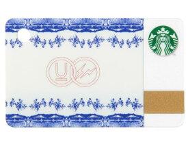 fragment design × UNDERCOVER x STARBUCKS フラグメントデザイン アンダーカバー スターバックス 限定 2015 新品 ミニスターバックスカード 白青 セラミック スタバ
