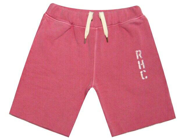 Ron Herman ロンハーマン ★2016新品 赤 ハーフパンツ RHC Pigment puffy shorts スウェット ショーツ RED