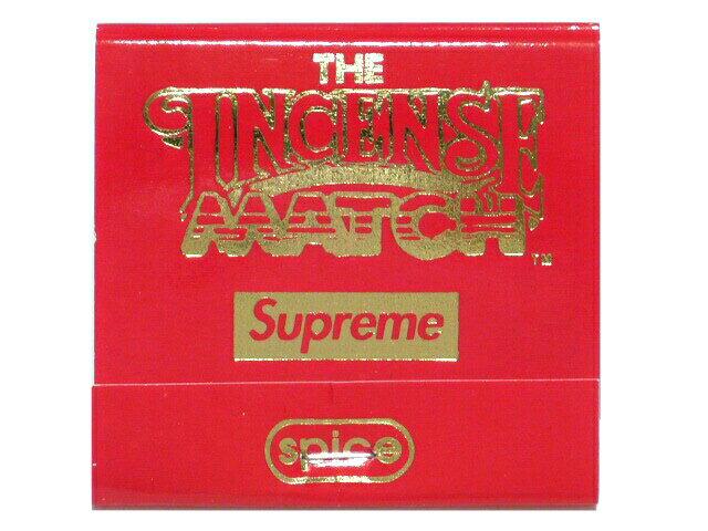 SUPREME シュプリーム 非売品★2017SS 新品 The Incense Match インセンス マッチ お香 ノベルティ