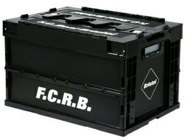SOPHNET. ソフ F.C.Real Bristol ブリストル ☆2017新品 黒 コンテナ ボックス F.C.R.B. FOLDABLE CONTAINER BLACK 入れ物