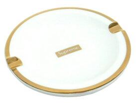 SUPREME シュプリーム 17AW 新品 白金 Gold Trim Ceramic Ashtray アッシュトレイ 灰皿 小物入れ WHITE