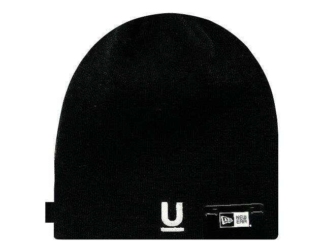 UNDER COVER アンダーカバー ニューエラ コラボ ☆ 2017AW 新品 黒 NEW ERA U LOGO BEANIE Uロゴ ニット帽 BLACK