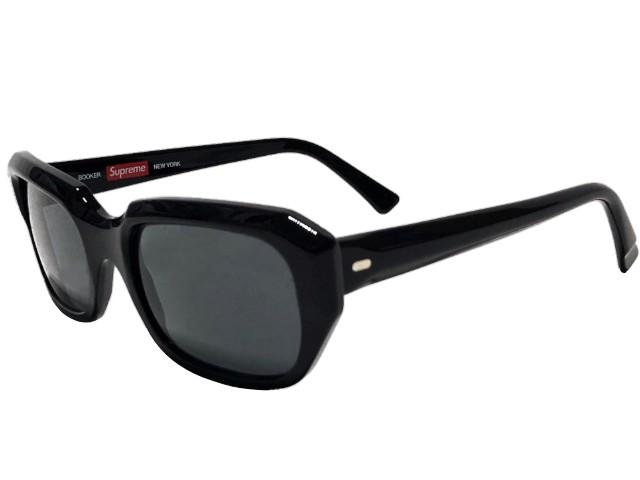 SUPREME シュプリーム ★ 18SS 新品 黒 サングラス Booker Sunglasses  BLACK
