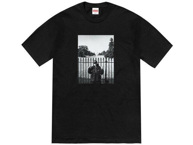 SUPREME シュプリーム UNDER COVER アンダーカバー パブリックエネミー コラボ ★ 18SS 新品 黒 Public Enemy White House Tee プリント Tシャツ BLACK ブラック