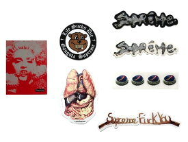 SUPREME シュプリーム 18AW 新品 Sticker Set ステッカーセット 7枚入り MADONNA マドンナ