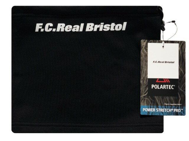 SOPHNET. ソフ F.C.Real Bristol エフシーレアルブリストル  ☆ 18AW 新品 黒 ネックウォーマー POLARTEC FLEECE NECK WARMER BLACK ブラック