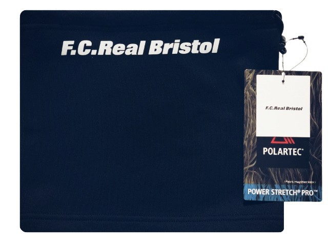 SOPHNET. ソフ F.C.Real Bristol エフシーレアルブリストル  ☆ 18AW 新品 紺 ネックウォーマー POLARTEC FLEECE NECK WARMER NAVY ネイビー