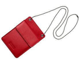 SUPREME シュプリーム 18AW 新品 赤 Leather ID Holder + Wallet レザー ウォレット 財布 RED ケース パース 定期入れ 小物入れ