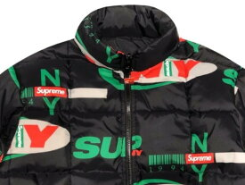SUPREME シュプリーム 18AW 新品 黒 Supreme NY Reversible Puffy Jacket リバーシブル パフィー ジャケット BLACK 送料無料
