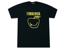 UNDERCOVER アンダーカバー 店舗限定 新品 黒 SMILE APPLE TEE スマイル アップル プリント Tシャツ ブラック BLACK
