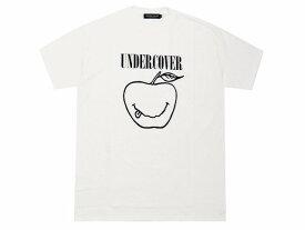 UNDERCOVER アンダーカバー 店舗限定 新品 SMILE APPLE TEE スマイル アップル プリント Tシャツ 白 WHITE