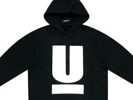 UNDERCOVER アンダーカバー 2020 新品 黒 HOODIE U LOGO Uロゴ スウェット パーカー ブラック BLACK 送料無料