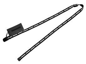 NEIGHBORHOOD ネイバーフッド 18SS 新品 黒 C.I./P-BELT ロゴ テープ ベルト  BLACK ロング