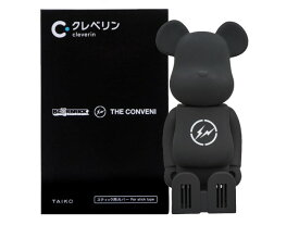 cleverin(R) BE@RBRICK THE CONVENI FRAGMENT GOLD MEDICOM TOY クレベリン コラボ 20SS 新品 金 ザ・コンビニ フラグメント サークルサンダー ベアブリック 送料無料