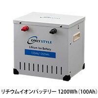 オンリースタイル リチウムイオンバッテリー1200Wh(100Ah) SimpleBMS内蔵型式:WB-LYP100AHA12SB