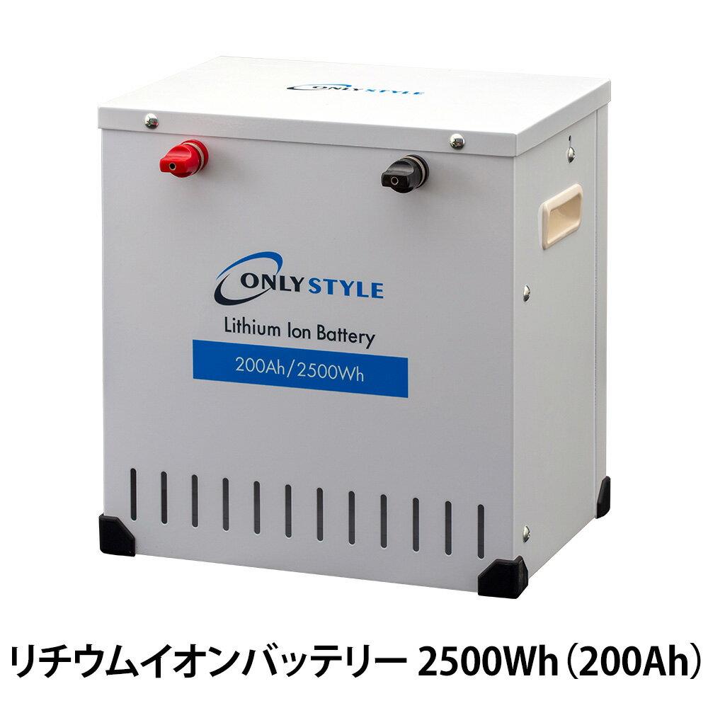 オンリースタイル リチウムイオンバッテリー 2500Wh(200Ah) SimpleBMS内蔵型式:SP-LFP200AHA12SB