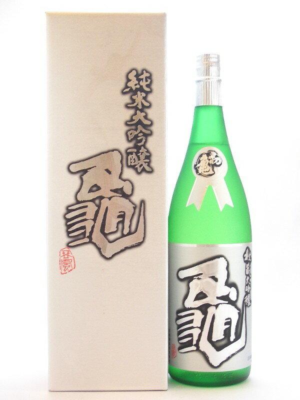 静岡県 初亀醸造 初亀【はつかめ】 純米大吟醸 亀 1800ml【要冷蔵】 【日本酒】