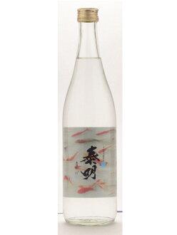 大分县藤居酿造松软的凉以及特蒸泰明(tokujotaimei)19°麦子烧酒720ml