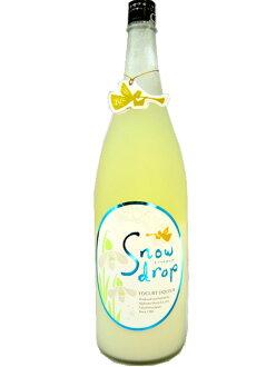 Fukushima Prefecture Akebono liquor manufacturing Snowdrop 1800 ml