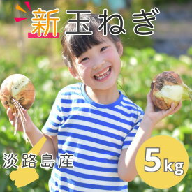 【新玉ねぎ】5kg おまかせサイズ | 送料無料(北海道・沖縄を除く) 淡路島産  新玉葱