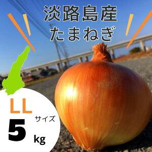 【2Lサイズ】玉ねぎ5kg 送料無料(北海道・沖縄を除く)【淡路島産】