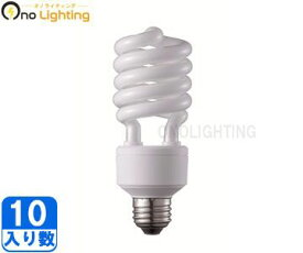 【パナソニック】(10個セット)EFD25EL20E パルック電球型蛍光灯(電球色)100W形【返品種別B】