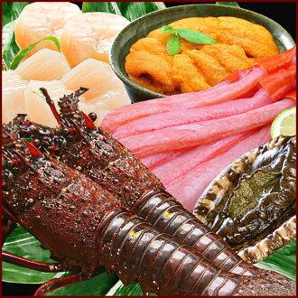 Premium Gourmet Japan set like, lobster, abalone, scallops and crab