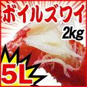 送料無料 贈り物 ギフト 贈り物ギフト ズワイ ずわい 蟹 かに カニ ズワイガニ 5L 約2kg(5肩〜6肩入)ノルウェー産