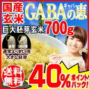 GABAの恵 国産 巨大胚芽米 ギャバ 700g×1袋 玄米《白米モードで炊けます》送料無料 国内産100% お米 スーパーフード 食物繊維・ビタ…