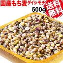 国産 もち麦 500g×1袋 送料無料 もちむぎ βグルカン メール便限定 食物繊維 送料無料 ポッキリ