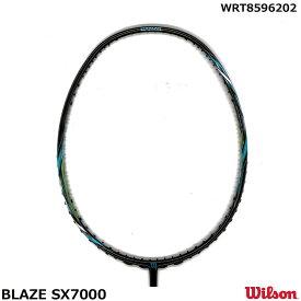 ウイルソン バドミントンラケットラケット BLAZE SX7000 ブルー WRT8596202 サイズ4U