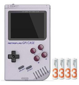 [正規品] RETROFLAG レトロフラッグ ゲームボーイ レトロゲーム風ラズベリーパイケース GPi Case Raspberry Pi Zer W [1年保証 単三電池*4付] (GPiケース)