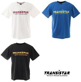 【TRANSISTAR(トランジスタ)】 ハンドボールウェア S/STシャツ「LAG」 ホワイト(14)/ブルー(44)/ブラック(07) HB21TS04