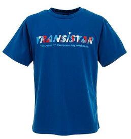 【TRANSISTAR(トランジスタ)】 HB DRY Tシャツ PAINT ブルー HB20TS04