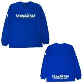 TRANSISTAR(トランジスタ) HEX-ICON DRY L/S Tシャツ ハンドボールウェア 20SS BLUE HB20TS01 TRANSISTAR トランジスタ メンズ BLUE 【スポーツ用品】