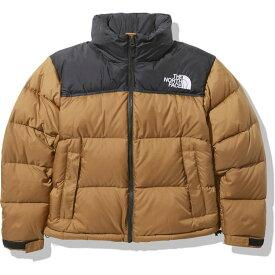 【THE NORTH FACE(ノースフェイス)】 Short Nuptse Jacket (ショートヌプシジャケット(レディース)) ユーティリティブラウン(UB) Lサイズ NDW91952