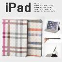 ipad pro 10.5 ipad5 2017 ipad pro 9.7 mini4 air2 air1 mini3 mini2 mini1 ケース チェック柄 手帳型 シンプル スタンド スリープ ス…