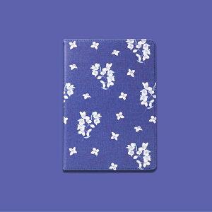 【保護フィルム・タッチペン付き】ipadケース手帳型花柄TPUPUオートスリープスタンド角度調整ハードケースipad6ipad5Air2air1ipadmini5mini4pro10.5pro11ネイビーあす楽【ipad989】
