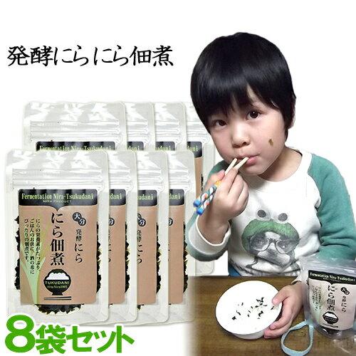 【送料無料】ハヤミ産業 発酵にら佃煮 50g×8袋セット【父の日ギフトクーポン】