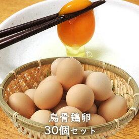 おおいた烏骨鶏卵 10個入り×3パック(30個セット)大分県産 梶原種鶏孵化場【送料無料】