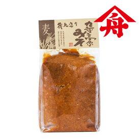 [お盆期間も営業中]ヤマフネ 九重高原みそ (麦粒) 1kg 麻生醤油醸造場