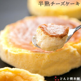 【限定30%OFFクーポン】半熟チーズケーキ 1ホール どんど焼本舗