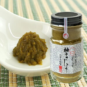 5%還元 大分県特産 川津家謹製 柚子こしょう(青) 60g ゆずこしょう 川津食品【バレンタインクーポン】